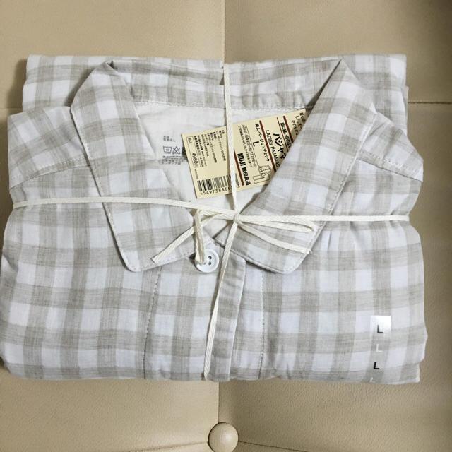新年だから新しいパジャマにしよう!無印良品のフランネル首元2WAYパジャマが