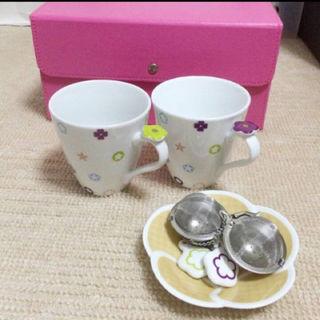 イッタラ(iittala)の♡新品未使用♡ アランディベール ペア マグカップ セット(グラス/カップ)
