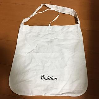 エディション(Edition)のエディション ショッピングバック(ショップ袋)