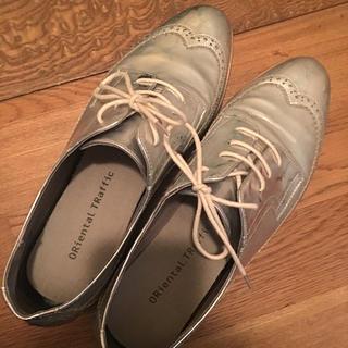 ザラ(ZARA)のsilver shoes(スニーカー)