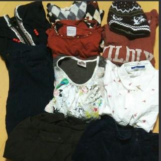 ダブルクローゼット(w closet)のW closet heart marketなど お洋服まとめ売り 10点セット(セット/コーデ)