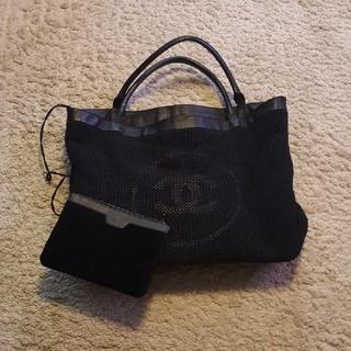 952baa95b2dd シャネル(CHANEL)のCHANEL 正規店購入 トートバッグ でかタオルポーチ付き