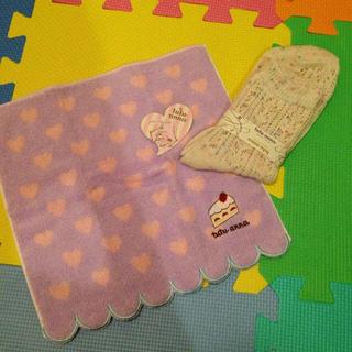 チュチュアンナ(tutuanna)のハンカチ&靴下(ハンカチ)