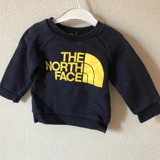 ザノースフェイス(THE NORTH FACE)の専用❗️THE NORTH FACE スウェット 80 ネイビー(トレーナー)