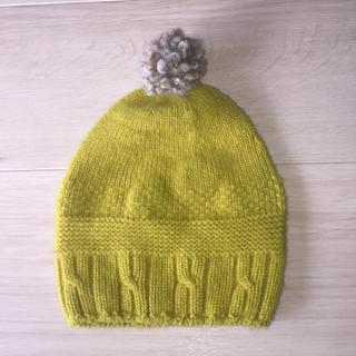 ミナペルホネン(mina perhonen)のミナペルホネン★ベビーニット帽(帽子)