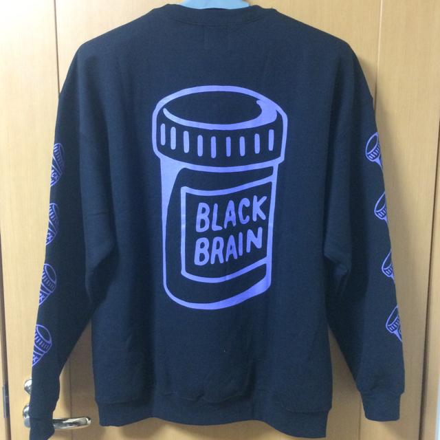 REBERTAS(リベルタス)の【Mサイズ】 BLACK BRAIN スウェット ブラックブレイン メンズのトップス(スウェット)の商品写真