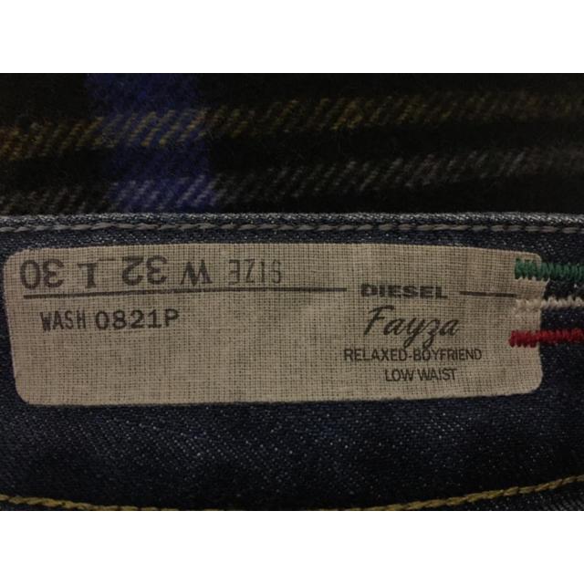 DIESEL(ディーゼル)のちぃ〜様専用✨DIESEL FAYZA ブルーデニム 32inch✨ メンズのパンツ(デニム/ジーンズ)の商品写真
