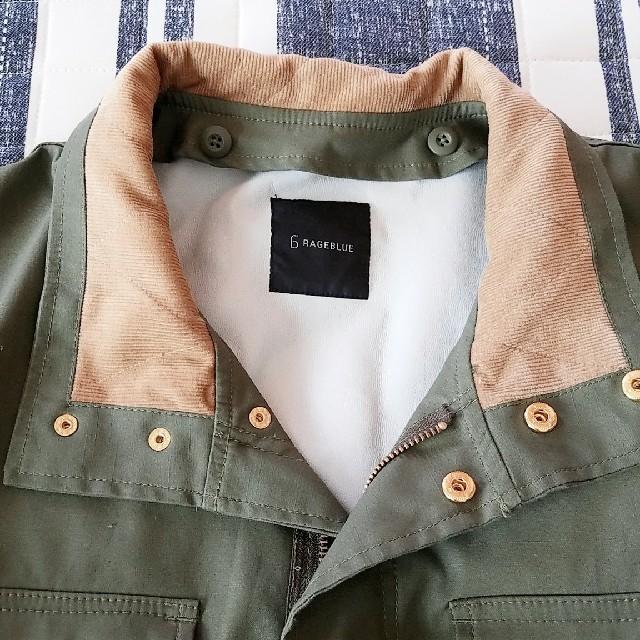 RAGEBLUE(レイジブルー)のレイジブルー□**ミリタリー メンズのジャケット/アウター(ミリタリージャケット)の商品写真