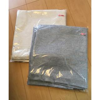 ムジルシリョウヒン(MUJI (無印良品))のココ様専用 リネン100% 麻平織掛ふとんカバー シングル 2枚組(シーツ/カバー)