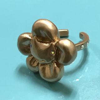 ツモリチサト(TSUMORI CHISATO)の美品 ツモリチサト ネコハナ リング ピンクゴールド(リング(指輪))