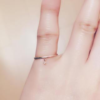 エテ(ete)のete k10 リング 6号(リング(指輪))