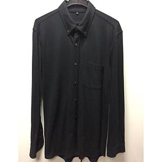 ムジルシリョウヒン(MUJI (無印良品))の無印良品 強燃鹿の子素材  メンズXL ボタンダウンシャツ 定価¥3980(シャツ)