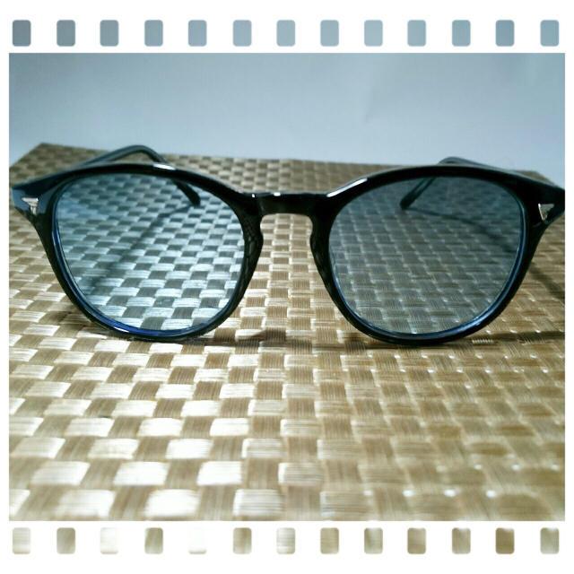 大人気☆ウェリントン レイバン ウェイファーラー調 カラーブルーレンズオークリー メンズのファッション小物(サングラス/メガネ)の商品写真