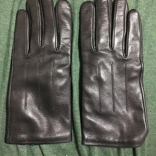 ディオールオム(DIOR HOMME)の専用 ディオールオムレザー手袋黒美中古品 (手袋)