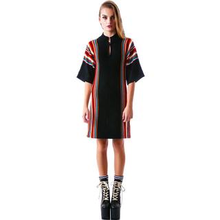 ユニフ(UNIF)のUnif ユニフ dashiki dress ワンピース ニット 人気完売商品(ミニワンピース)