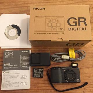 リコー(RICOH)のGR digital 初代(コンパクトデジタルカメラ)