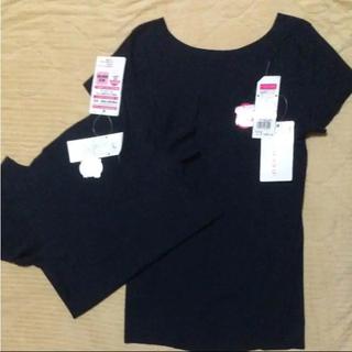 グンゼ(GUNZE)のグンゼ無縫2分袖インナーMサイズ2枚セット(アンダーシャツ/防寒インナー)