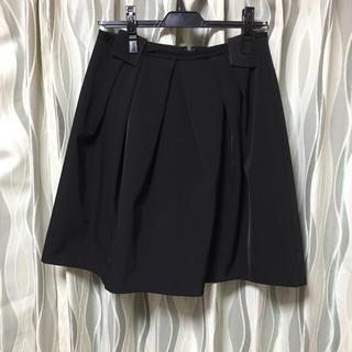 デミルクスビームス(Demi-Luxe BEAMS)のお値下げ♡ビームス♡ブラック♡スカート♡38(ひざ丈スカート)