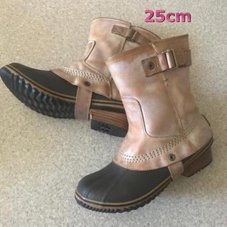 ソレル(SOREL)のSOREL SLIMPACK RIDING 25cm サンドベージュ 革製ブーツ(ブーツ)