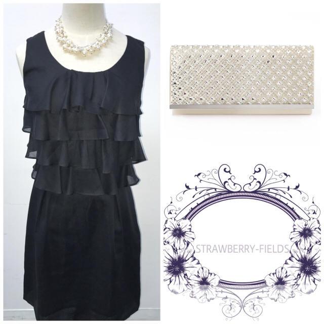 befa174a7a1e1 STRAWBERRY-FIELDS(ストロベリーフィールズ)のドレス ワンピース フリル ストロベリーフィールズ レディースのフォーマル