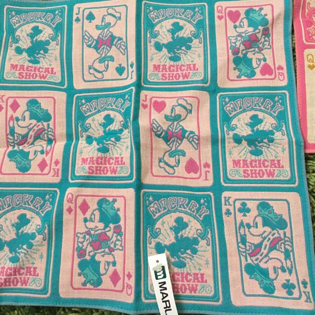 Disney(ディズニー)のディズニー ハンカチ2枚 レディースのファッション小物(ハンカチ)の商品写真