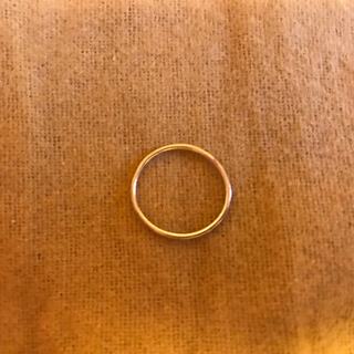 オーロラグラン(AURORA GRAN)のAURORAGRAN オーロラグラン シンプル ゴールド リング K10(リング(指輪))