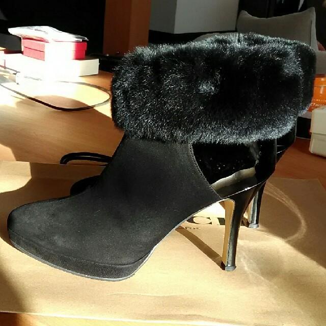 Odette e Odile(オデットエオディール)のショートブーツ 24センチ オデット デ オディール レディースの靴/シューズ(ブーツ)の商品写真