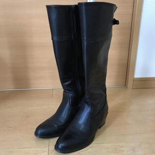 テチチ(Techichi)のテチチ ロングブーツ 黒 37(M)(ブーツ)