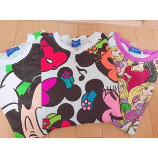 ディズニー(Disney)のDisneyTシャツセット(Tシャツ(半袖/袖なし))