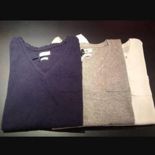 シー(SEA)のカットシャツ ルーズVネックTEE(Tシャツ(長袖/七分))