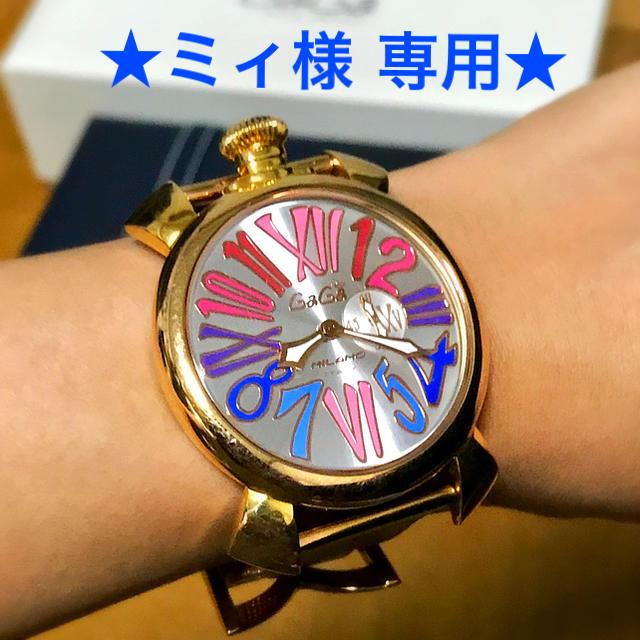 wholesale dealer b73f4 42d79 【ミィ様専用】GaGa MILANO レディース腕時計 ガガミラノ | フリマアプリ ラクマ
