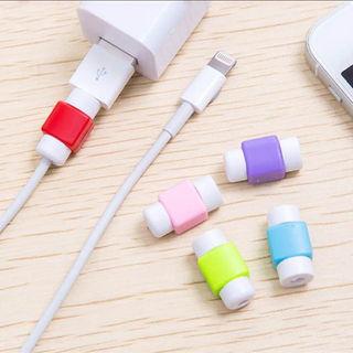iPhone ライトニングケーブル 保護カバー 2個組(その他)