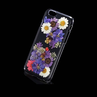 iPhone 6 6S ケース カバー 押花(その他)