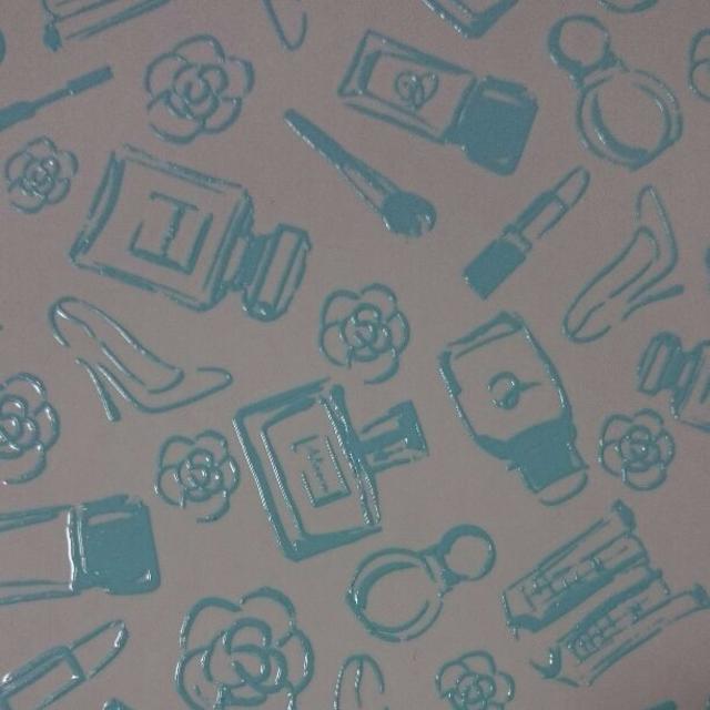 ★ポーセラーツ 盛り転写紙★コスメ(ホワイト) ハンドメイドの素材/材料(各種パーツ)の商品写真