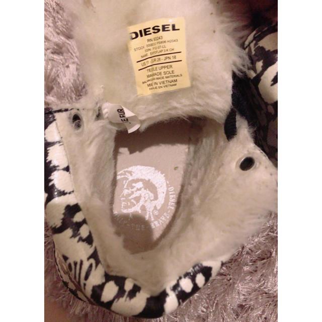 DIESEL(ディーゼル)のディーゼル  キッズ 18センチ ブーツ  キッズ/ベビー/マタニティのキッズ靴/シューズ (15cm~)(ブーツ)の商品写真
