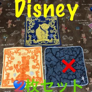ミニオン(ミニオン)の再値下♡即購入OK Disney ♡ ハンカチ 2枚セット(キャラクターグッズ)