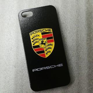 ポルシェ(Porsche)の☆送料無料☆iPhone5S ケース SE PORSCHE ポルシェ カバー(iPhoneケース)