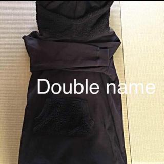 ダブルネーム(DOUBLE NAME)の美品 ダブルネーム 美品  長め パーカー スウェット 定価12000(パーカー)