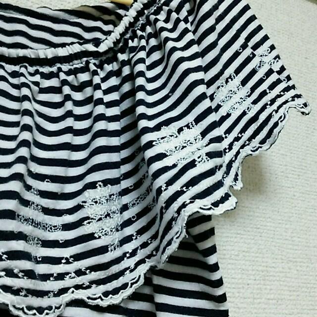 mysty woman(ミスティウーマン)のmysty womanのボーダーT レディースのトップス(Tシャツ(半袖/袖なし))の商品写真