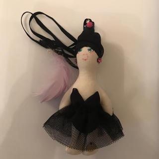 アクアガール(aquagirl)のブラックスワン☆デモデdemodee(バッグチャーム)