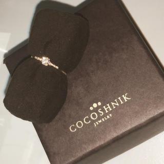 ココシュニック(COCOSHNIK)の祝日+ブラックフライデーSALE✩⃛ココシュニック ダイヤモンドリングK10YG(リング(指輪))