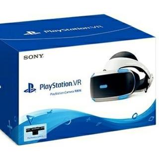 プレイステーションヴィーアール(PlayStation VR)のPS4 VR♡カメラ同封版(家庭用ゲーム機本体)