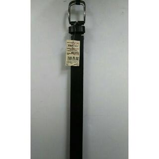 ムジルシリョウヒン(MUJI (無印良品))の新品  無印良品 ヌメ革 手染めベルト・黒(ベルト)