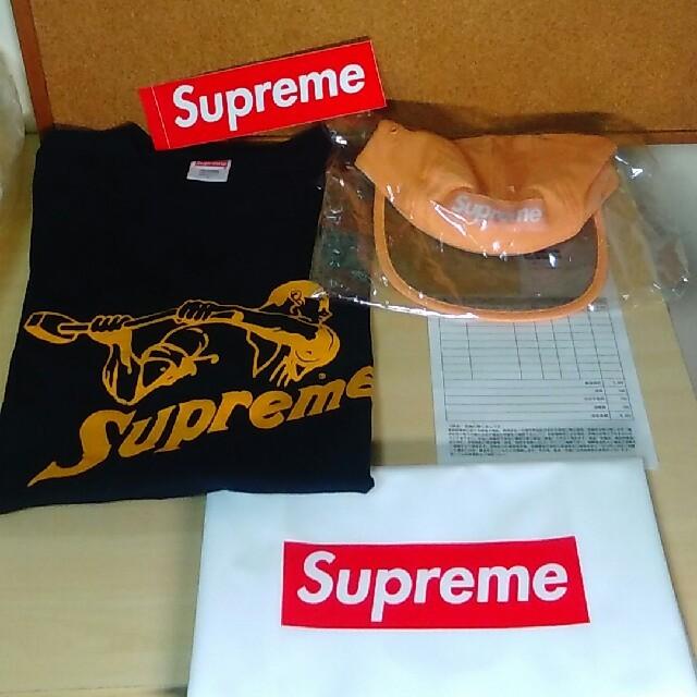 Supreme(シュプリーム)のシュプリームTシャツとキャップのセット メンズのトップス(Tシャツ/カットソー(半袖/袖なし))の商品写真