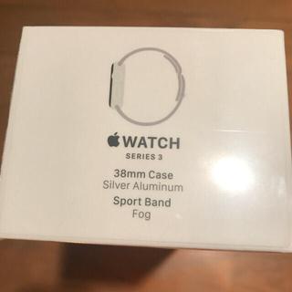 アップルウォッチ(Apple Watch)の(かん様専用) Apple Watch series3 38mm(スマートフォン本体)
