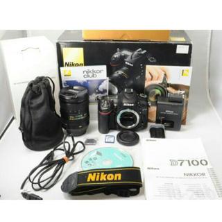 ニコン(Nikon)の★美品★NIKON ニコン D7100 レンズ 18-200mm(デジタル一眼)