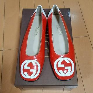 グッチ(Gucci)のGUCCIグッチ❤フラットシューズ35C(ローファー/革靴)