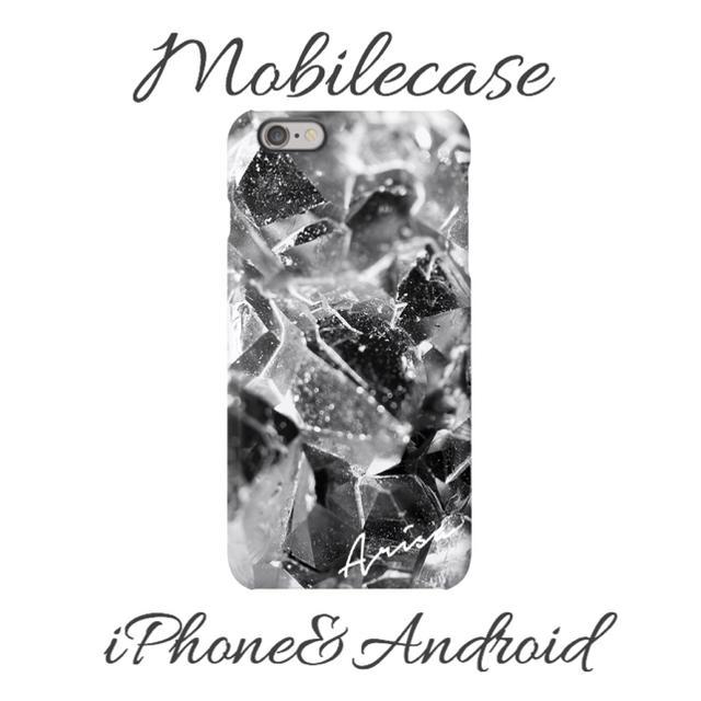 burch iphone8plus ケース 激安 | 名入れ可能♡シルバーストーン柄スマホケース♡iPhone以外も対応機種多数あり♡の通販 by welina mahalo|ラクマ