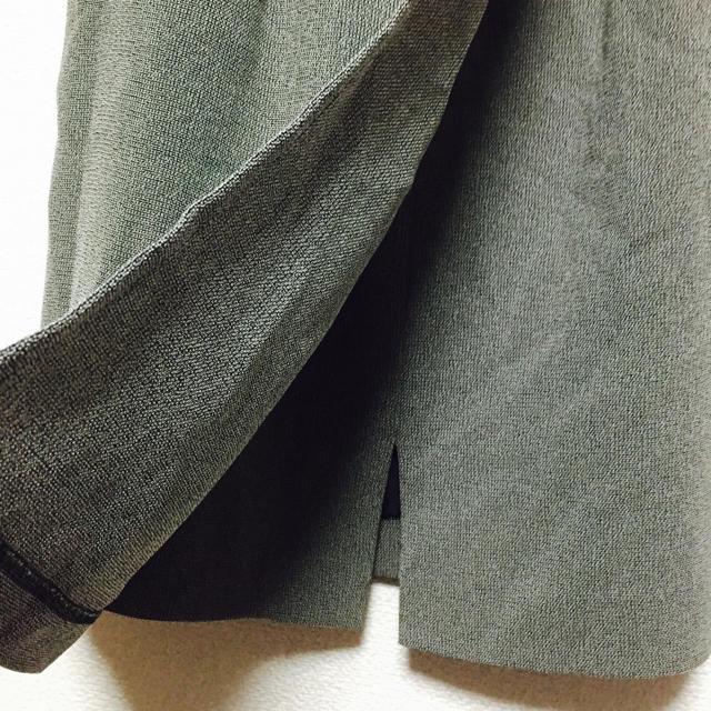 グレー スリット入り タイトスカート ♡ レディースのスカート(ひざ丈スカート)の商品写真