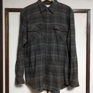 スキャナー(SCANNER)のスキャナー チェックネルシャツ XL(シャツ)